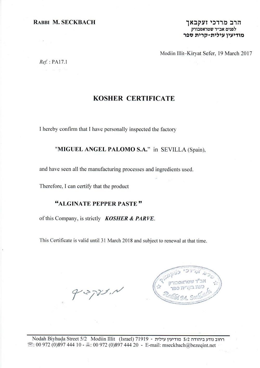 Kosher-Certificate-MAPSA-DH-2017-2018
